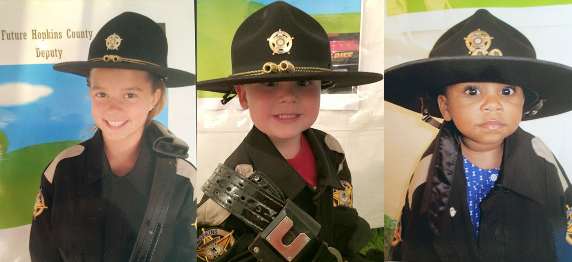 I want to grow up to be Sheriff