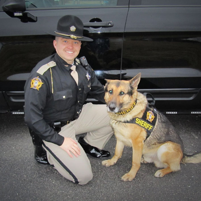 Sheriff and K9